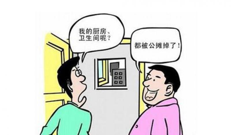 【夏日天浅蓝】房屋公摊你知道多少?别再被忽悠了. 这些房公摊比其他大很多!
