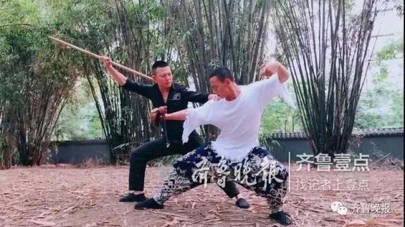 真功夫!仨山东小伙自制武打片走红 网友:比电影里还厉害