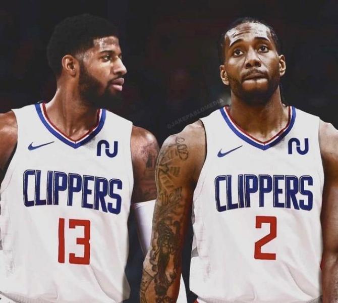 美媒预测下赛季NBA冠军:快船湖人霸榜勇士排第三,火箭篮网无缘
