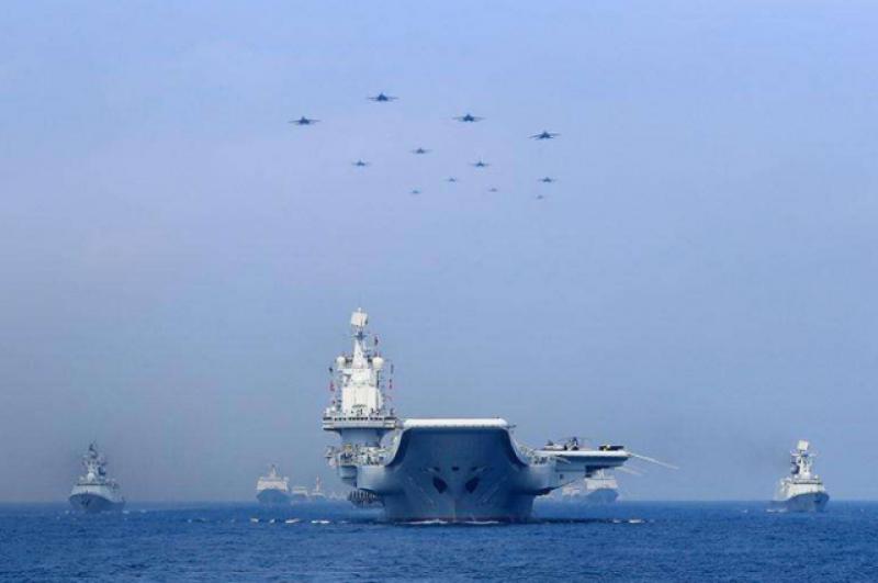 中国海军又亮肌肉:警告气氛浓烈!南海局势迎来空前逆转