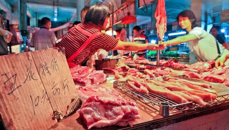 【想待在角落】储备冻肉上市,猪肉价格出现回落,中秋节猪肉价格能降多少?