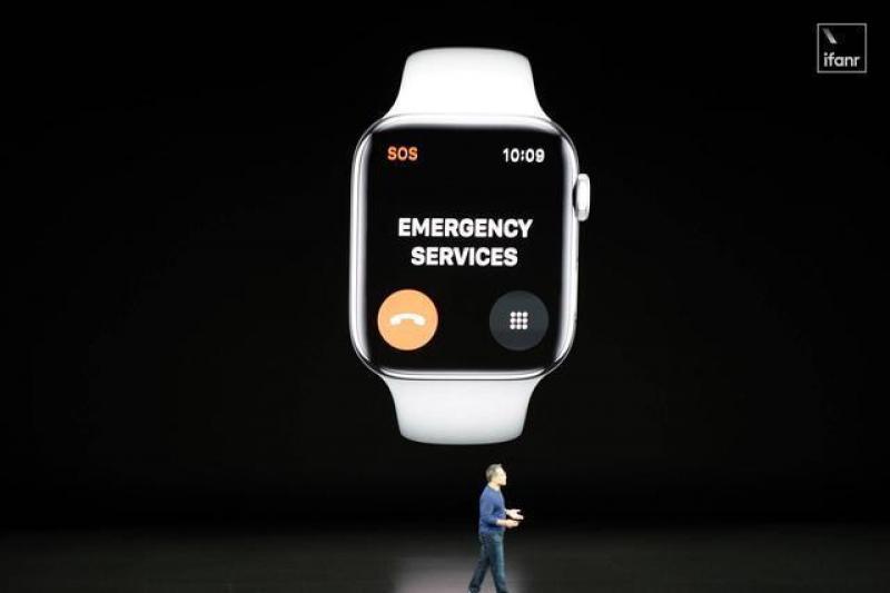 【冬天开出牵牛花】Apple Watch Series 5 发布:续航更长,款式更