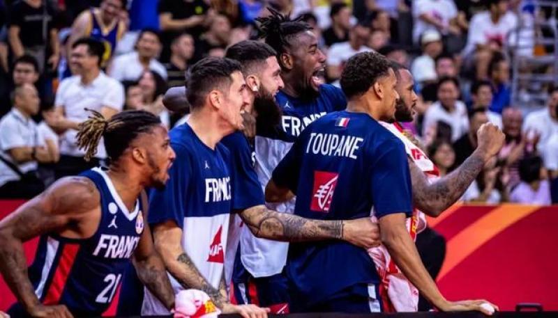 大冷门!美国男篮不敌法国,无缘世界杯四强