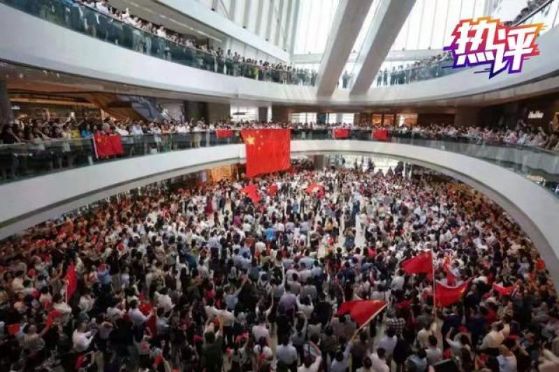 没有口罩满脸笑颜 这才是香港该有的风貌