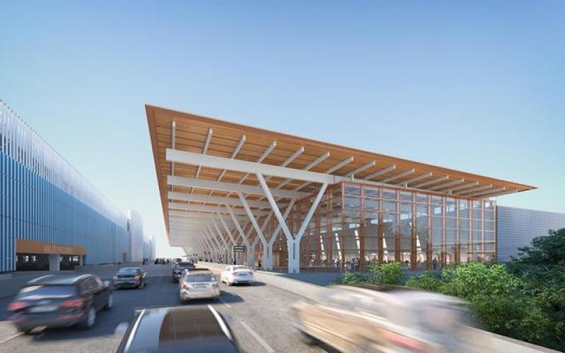 SOM公布堪萨斯机场航站楼修缮方案,预计耗资15亿美元
