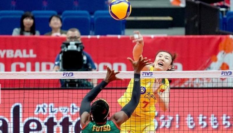 中国女排取胜喀麦隆队,郎导就李盈莹的表现,从三个方面给予肯定
