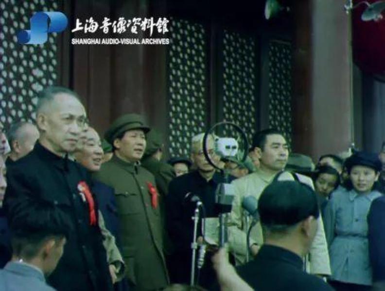 """""""彩色中国""""超清晰!开国大典彩色纪录片70年后重现"""