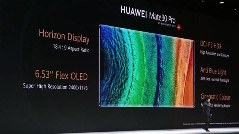 【野区帅叔叔】华为 Mate 30 系列发布,拥有 5G + 最强四摄的国产机