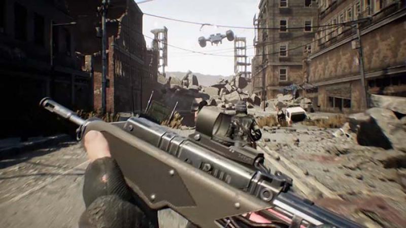 《终结者》衍生FPS游戏《终结者:反抗》公开