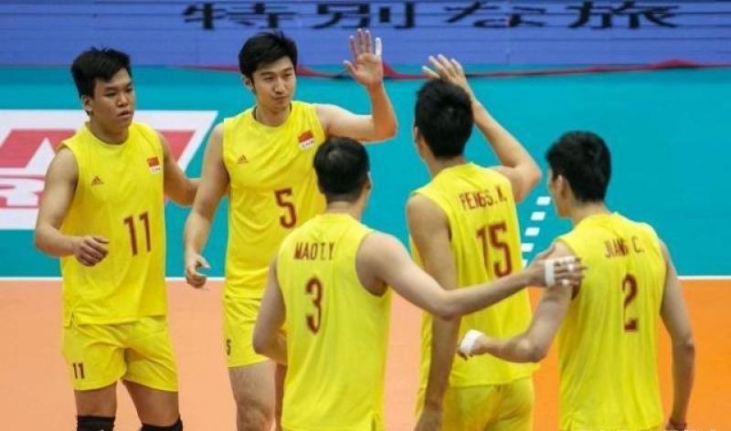 【蓝颜】气愤!中国男排1:3中国台北队,对方嚣张庆祝!
