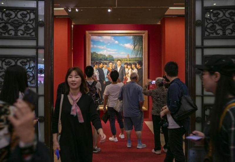 看70周年壮丽画卷 尽在中国美术馆这场新展