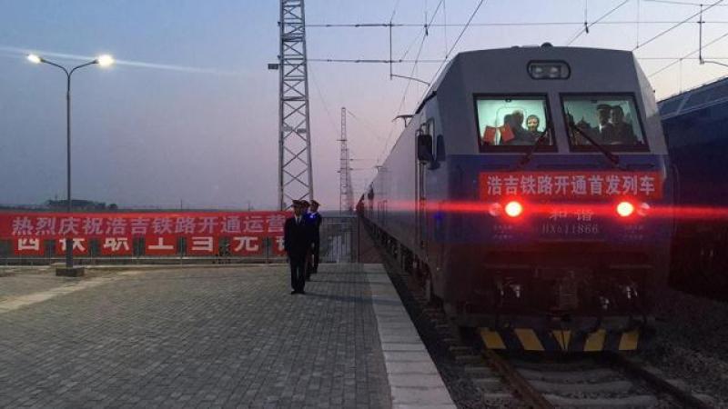 中国新增纵贯南北能源运输大通道:浩勒报吉至吉安铁路开通