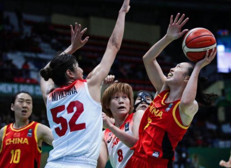 【坎坷王者路】连4届亚洲杯无冠!中国女篮惨遭大逆转 见证日本实现4连冠