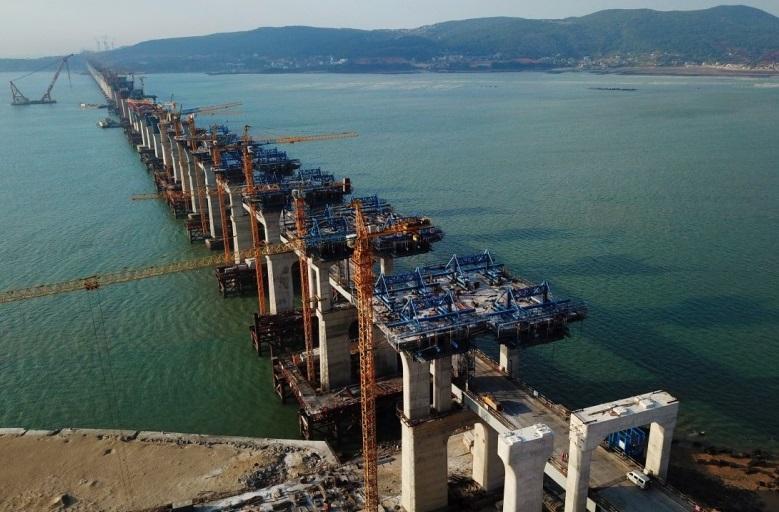 中国又修出超级大桥,几乎动用所有大型国产装备,距台湾仅68海里