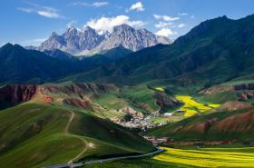 """一路向西,绕不过的美景""""祁连山"""""""