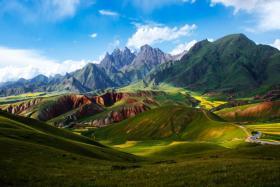 """【少年维特斯】一路向西,绕不过的美景""""祁连山"""""""