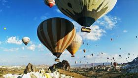【清晨的小鹿】超浪漫!超唯美!土耳其卡帕多奇亚,热气球的天堂