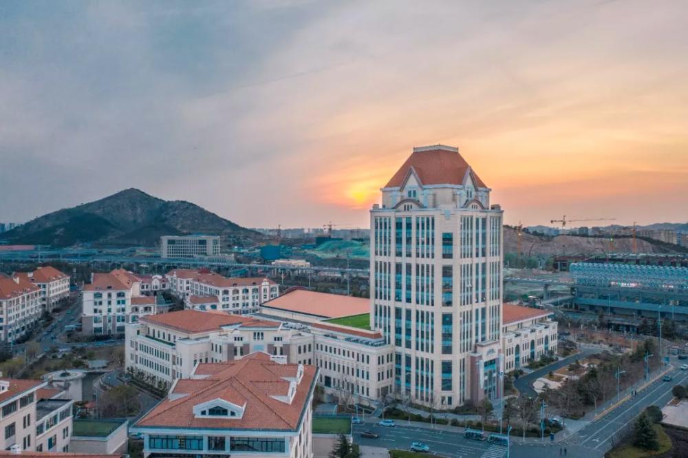 这里是中国海洋大学校园,这里是山东最美丽的大学校园