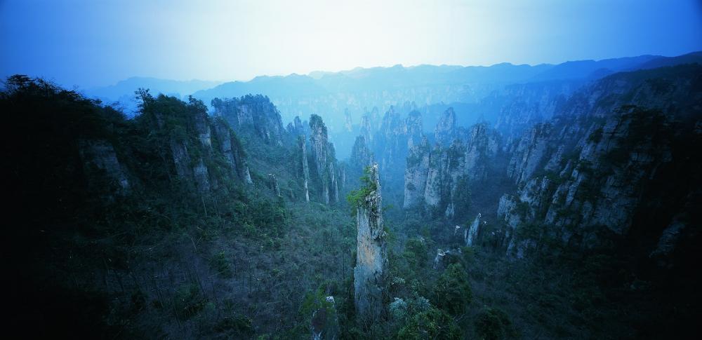 世界遗产张家界,中国第一个国家森林公园