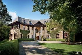 【素笺淡墨】美国康涅狄格州的庄园,建于上世纪中旬