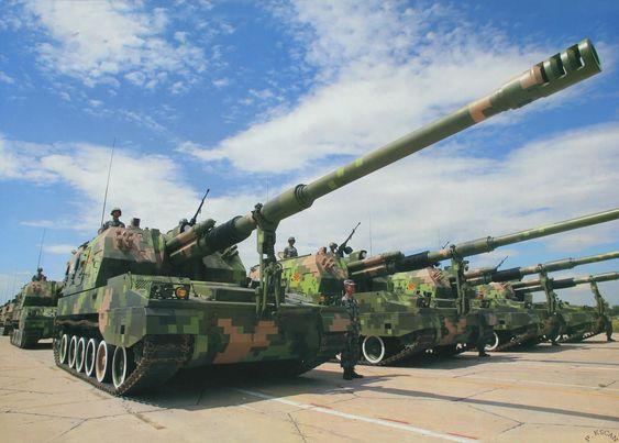 地表最强!性能远超帕拉丁——PLZ-05自行火炮
