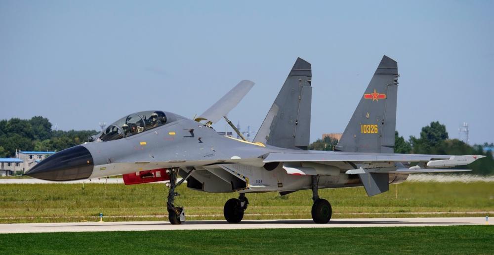 中国空军歼-11BS重型战斗机 现役公开展示次数最多的战机