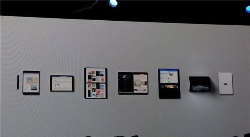【討只軟猫兒】微软Surface Neo发布:双屏折叠设计 2020年推出