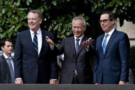 """中美贸易协议""""第一阶段""""初步达成!未涉及华为许可证问题"""