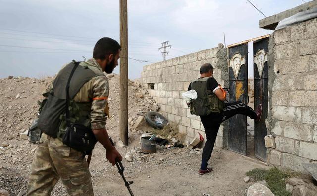 在美国与土耳其达成的停火协议中,一名土耳其士兵在叙利亚丧生