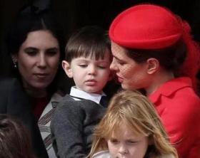 【抬头√那曙光】她是摩纳哥最美公主,未婚生娃身价57亿,眉眼神似格蕾丝王妃