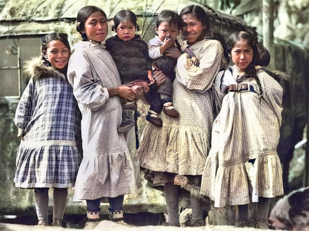 三十年代阿拉斯加,北极地区黄种人