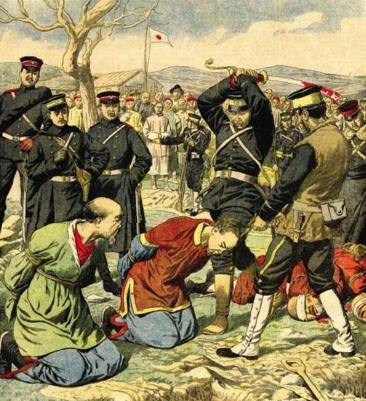 换个角度看历史,百年前明信片中的八国联军侵华事件