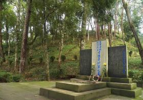 【萤火眠眠】中国最大抗战烈士陵园:令人落泪,图9埋着四名双手反绑跪地日军