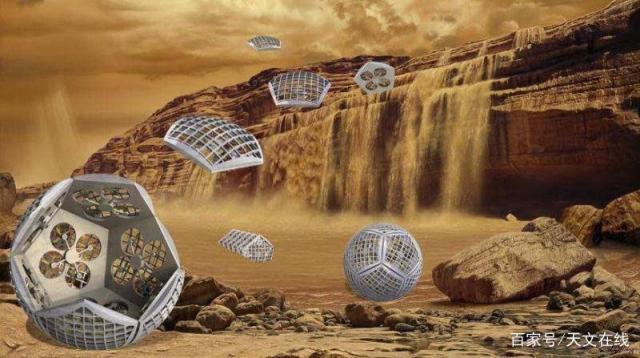 NASA概念设想了一个变形机器人来探索土星的卫星泰坦星