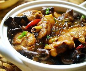 【夕阳追脚尖】冬天吃什么,小鸡炖蘑菇呀,营养又美味好吃还好做