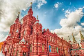 世界上著名的广场之一,俄罗斯举行各种大型庆典及阅兵活动地点