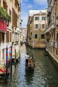 贡多拉船是水城的文化符号。