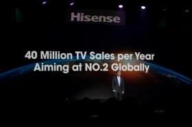 【老夫聊发少年狂】海信CES 2020发布卷曲屏幕激光电视!