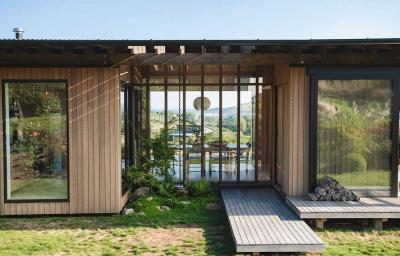 【╰暴走的兔子╯】简朴而独特的山区住宅,日本传统设计风格