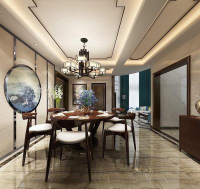 【迷路的男人】465m²独栋别墅,谁说中式古板,明明可以浪漫脱俗