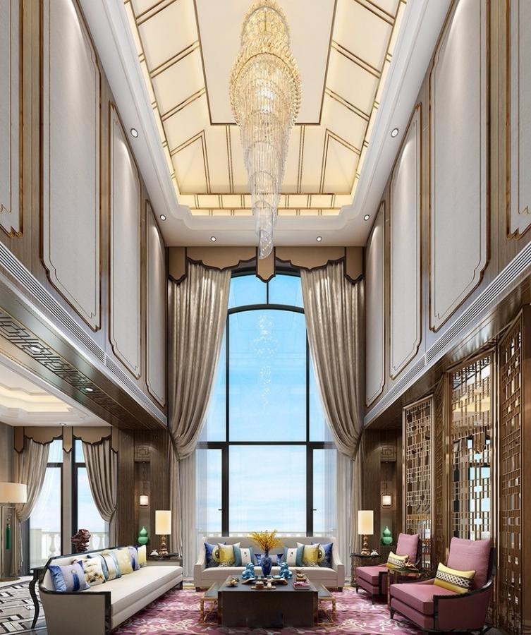 468m²独栋别墅,洋溢着尊贵和典雅,有钱人家都这么装