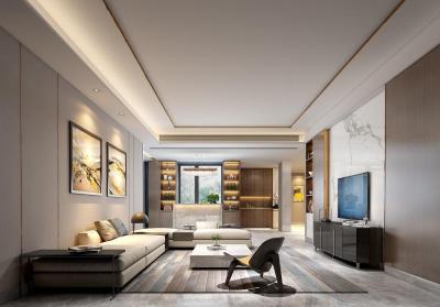【作业是电脑的小三】487m²独栋别墅,大老板花80w自建53w装修出低调奢华感