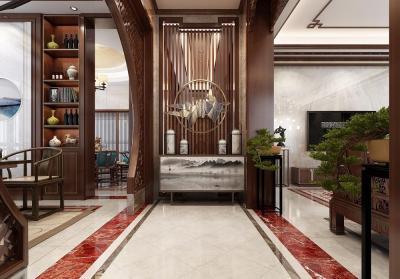 537m²古韵别墅,新中式豪宅这么来装修,分分钟钟惊艳你的朋友圈