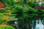 在加拿大不列颠哥伦比亚省的维多利亚,世界著名的第二大花园