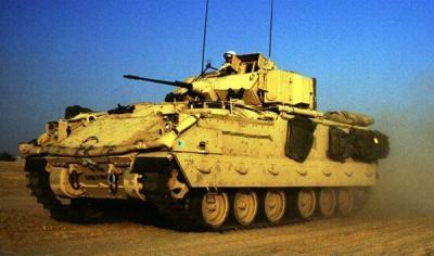 M1艾布拉姆斯的忠实伙伴:M2布雷德利步兵战车