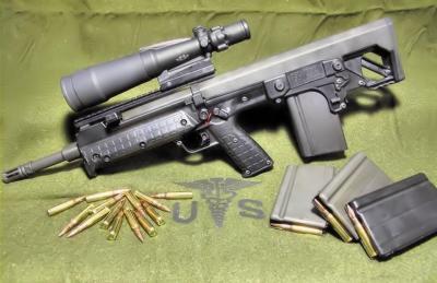 【地平线无际】军事丨这是一种采用前抛壳的,无托结构半自动步枪