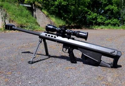 军事丨巴雷特打破常规的无托结构,大口径狙击步枪