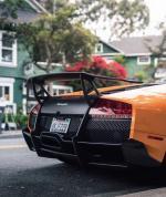 Lamborghini Murciélago SV,兰博基尼最初的计划是打造350台的Murcielago LP670-4 SuperVeloce,但后来他们改变了主意,最终使用原厂工艺和组装成功的只有186台。在Murcielago SV上是由一个癫狂的6.5升V12自然吸气发动机提供670马力( 493千瓦)和660 Nm的(489磅 - 英尺)扭矩作为其魅力本源,并通过一台六速手动或手自一体
