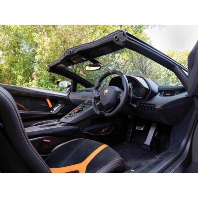 """""""橙""""味十足的兰博基尼Aventador LP750-4 SV"""