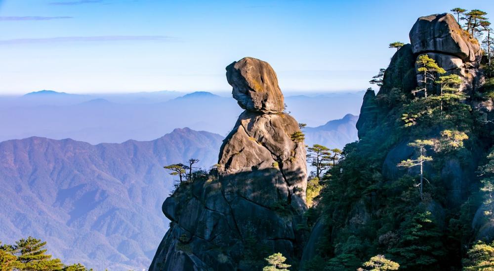 """入选""""中国最美""""六大名山的三清山到底有多美"""